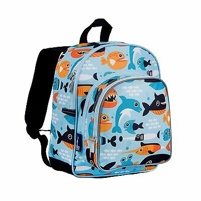 Wildkin Pack 'N Snack Backpack Big Fish New