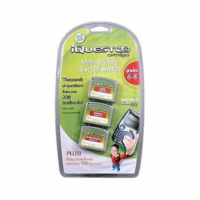 iQuest Cartridge - 6th Through 8th Grades - Math Science and Social Studies New