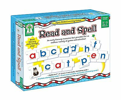 CARSON DELLOSA KE-846024 OPEN-ENDED LEARNING GAMES READ AND SPELL New