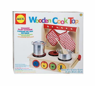 Alex Toys Pretend and Play Wooden Cook Top New