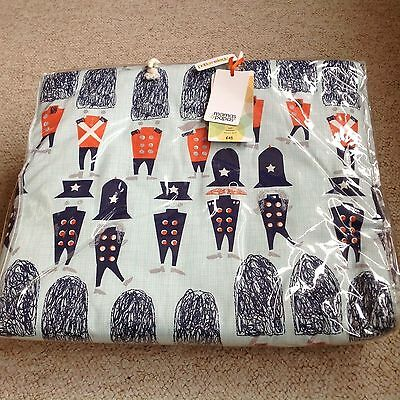 BNWT Mamas and papas patternology soldier quilt
