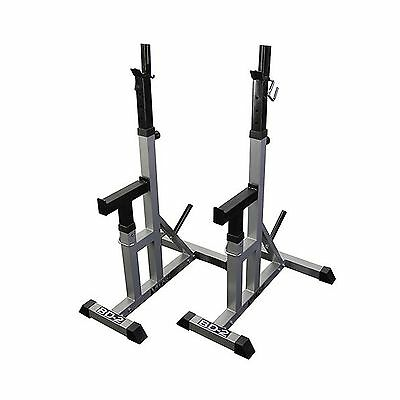 Valor Fitness BD-2 Independent Bench Press Stands Pewter New