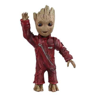 In Box Guardians of the Galaxy 2 Baby Little Groot Welle Wave Hand Figur Figuren