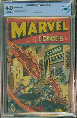 Marvel Mystery #72 [1946] Certified[4.0] Vintage Timely
