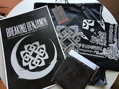 Official Breaking Benjamin Exclusive VIP Concert Package - Dark Before Dawn Tour