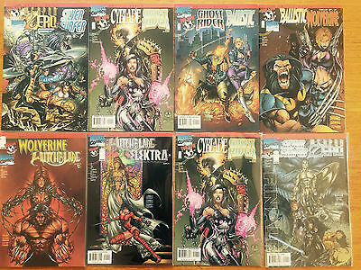 Devils Reign  1 To 8  Mini Series   Marvel Comics / Tow Cow