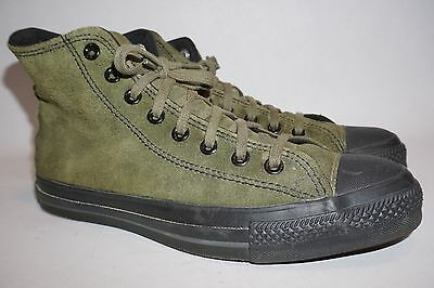 Rare Vintage USA Hi Top Converse All Star Chuck Taylor Shoes Green Size 8 wm 10