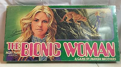 1976 Parker Bros The Bionic Woman Board Game Factory Sealed Jamie Sommers VTG