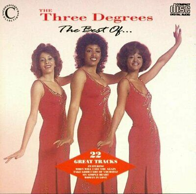 THE THREE DEGREES - THE THREE DEGREES - The Best ... - THE THREE DEGREES CD UOVG