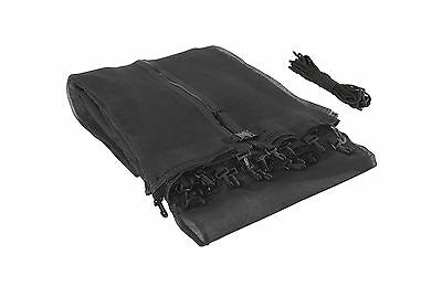 Upper Bounce 12-Feet Trampoline Enclosure Safety Net Fits for 12-Feet Rou... New