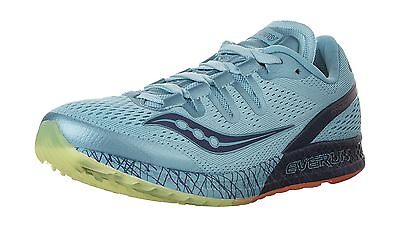 Saucony Women's Freedom ISO Running Shoes Blue/ Citron 8.5 M US New
