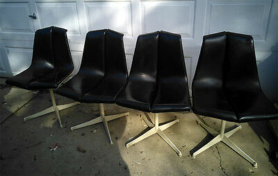 Set of 4 Richard Schultz by Knoll Chairs ~ Mid-Century Modern (1960's)