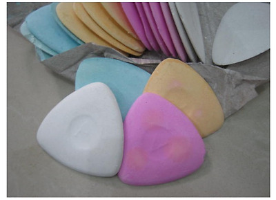 50PCS - 4 color Tailors Triangle Chalk Cloth Marker Sewing Mending Alterations