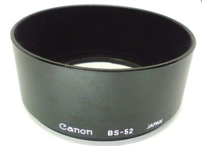 [EXC+++++] Canon BS-52 BS 52 Hood ORIGINAL, AUTHENTIC, GENUINE from Japan