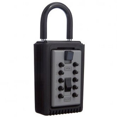 Key Safe 3 Key Capacity Keysafe KIDDE. Portable Padlock -FREE POST-AIR BNB LOCK