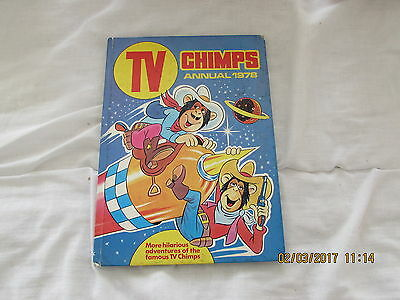 Tv    Chimps   Annual  1978  Very Good For  Age