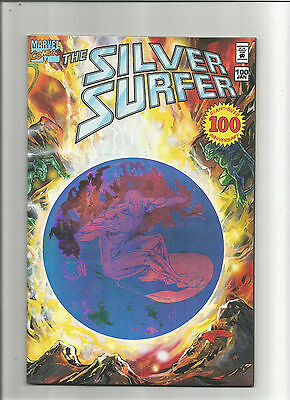 Silver Surfer #100 (Marvel 1987 2nd Series) Direct Marketing Coupon Attached NM