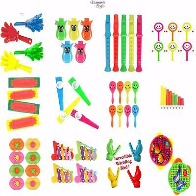 Party Bag Fillers - Music Range - Toy Pinata Children Loot - Choose Quantity