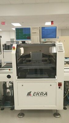 Ekra Stencil Printer E4 Fully Automatic PCB Screen SMT PCB Board In Line Nice!