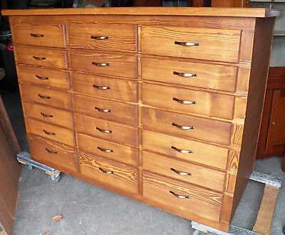 Big Custom Made 42 Drawer Collectors Cabinet