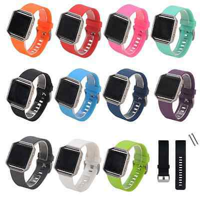 Silicone Wrist Band Strap Bracelet Watchband for Fitbit Blaze Watch