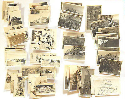 75pc. Photo Archive US AEF Siberia Russia China Allied Expeditionary Force WWI