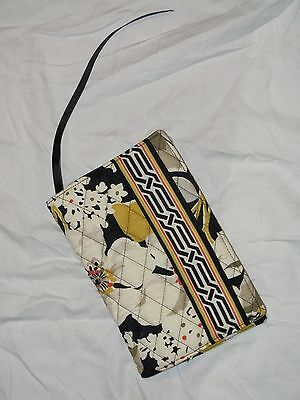 Vera Bradley Fabric Paperback Book Cover Dogwood Pattern New With Tag