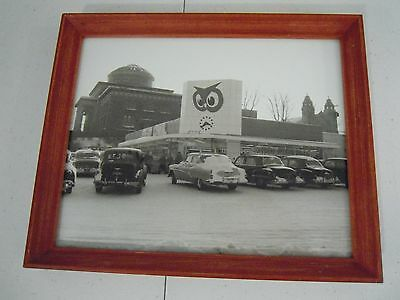 RED OWL Grocery Store 1950s Marquette Michigan Framed Photo Reproduction
