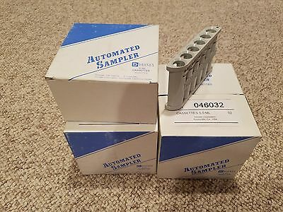 Dionex AS40 Autosampler Casettes 5 Pack Lot Brand New Still in Boxes! 046032