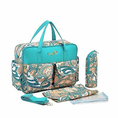 KF Baby Rox Diaper Bag Value Set with Crossbody bag strap Changing Pads m... New