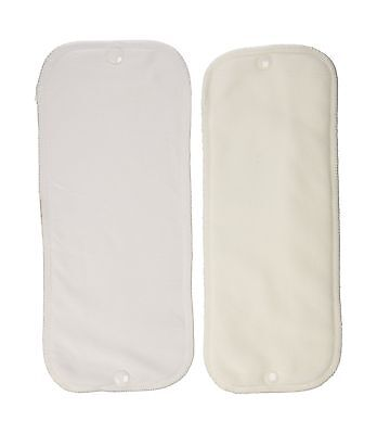 Thirsties Stay-Dry Duo Insert White Size One (6-18 lbs) Size One (6-18-Po... New