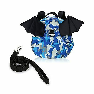 BTSKY Baby Toddler Walking Safety Backpack with Leash Little Kid Boys Gir... New