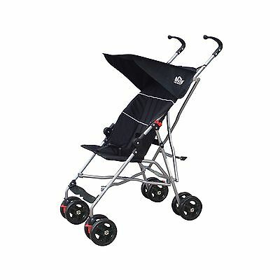 Bily Umbrella Stroller Black New