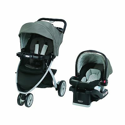 Graco 1979995 Pace Click Connect Travel System with SnugRide 30 LX-SECK30... New