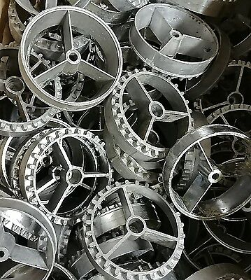 10 x BEAVER CANDY METAL WHEELS VENDING MACHINES PARTS CONVERSIONS AVAILABLE
