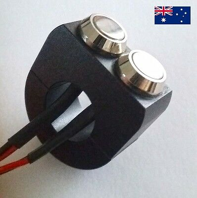 Custom Motorcycle 2 Button Control Switch like Motogadget Motone IN AU