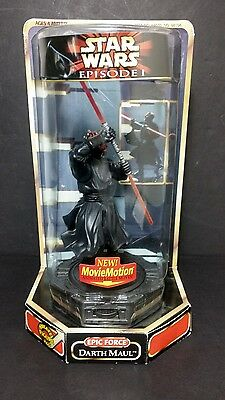 star wars EPISODE 1 action figure - DARTH MAUL  EPIC FORCE W movie motion - 99