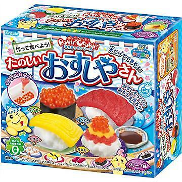 Popin Cookin DIY Sushi  Japanese Candy, Lollies Lolly & Snacks
