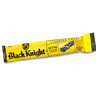 Black Knight Licorice Kiwi New Zealand Lollies Lolly & Snacks