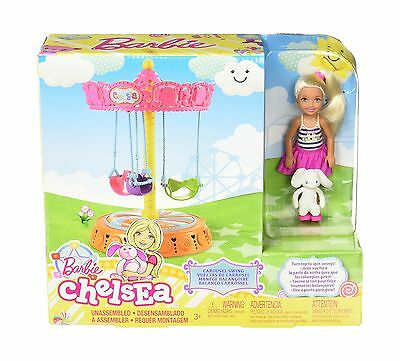 Barbie - Chelsea Carousel Playset New