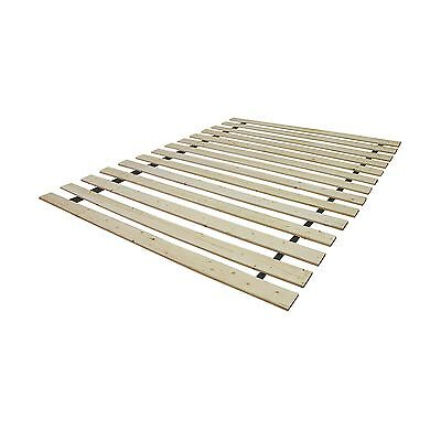 Classic Brands Heavy Duty Wooden Bed Slats Bunkie Board Frame King New