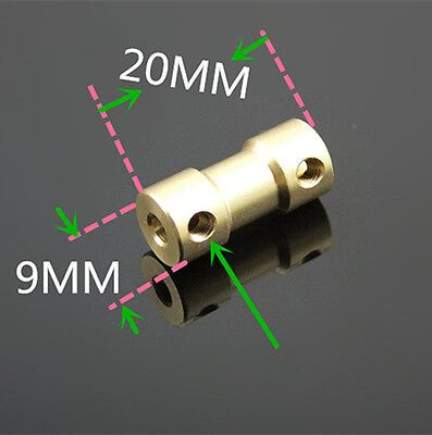 2/2.3/3/3.17/4/5/6mm Motor Drive Bass Shaft Coupling Coupler Connector Sleeve