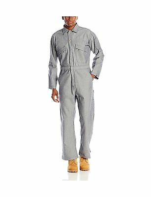Key Apparel Men's Long Sleeve Fisher Stripe Unlined Coverall Small/Short New