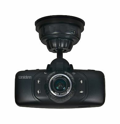 Uniden Cam650 HD Automotive Video Recorder with GPS Black New