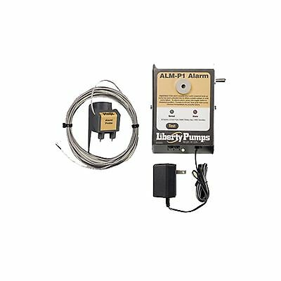 Liberty Pumps ALM-P1 Indoor High Liquid Level Alarm with Probe Sensor New