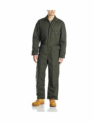 Key Apparel Men's Insulated Duck Coverall Loden XX-Large-Tall New