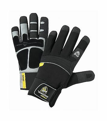 West Chester 96650 Synthetic Leather Waterproof Winter Glove Neoprene Wri... New