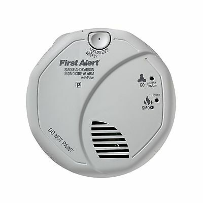 First Alert SCO5CN Battery Operated Combination Carbon Monoxide/Smoke Alarm New