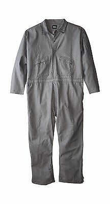 Key Apparel Men's Big-Tall Long Sleeve Fisher Stripe Unlined Coverall New