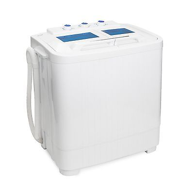 XtremePowerUS 99801 Portable Compact Washer Washing Machine With Built in... New